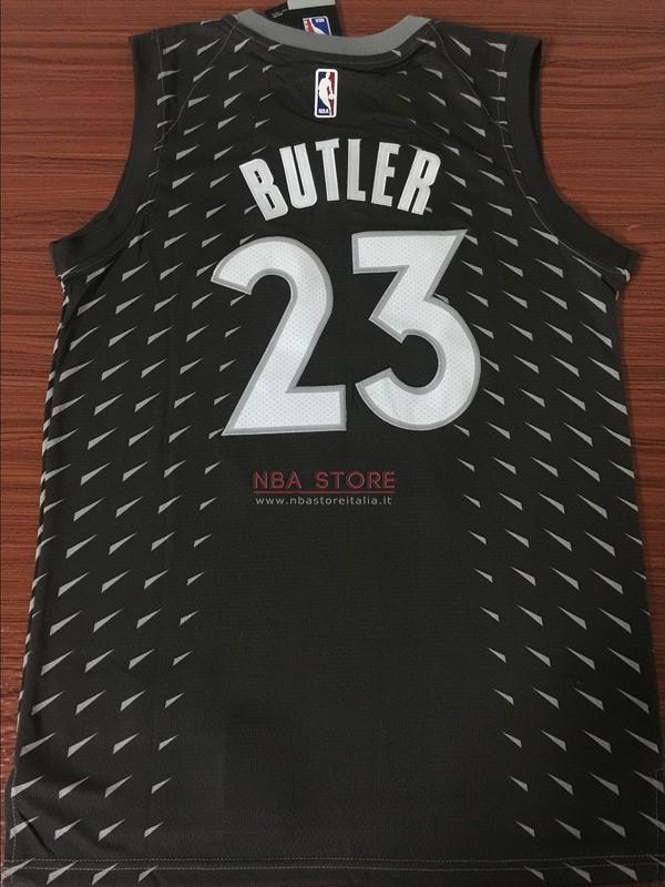 ... Divise Basket Personalizzate NBA Minnesota Timberwolves NO.23 Jimmy  Butler Nike Grigio Città 2017  ... f53d54786903