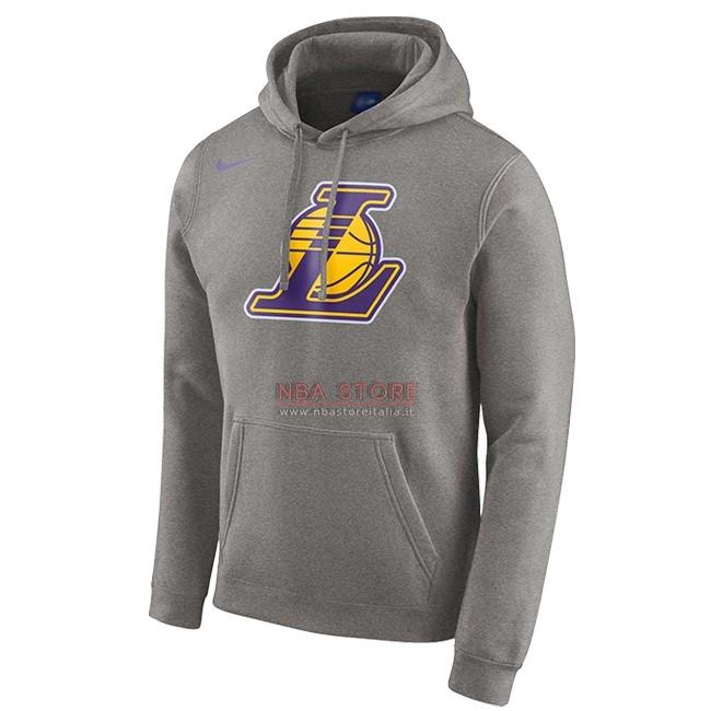88011d23ec Vendite Scontate Felpe Con Cappuccio NBA Los Angeles Lakers Nike ...