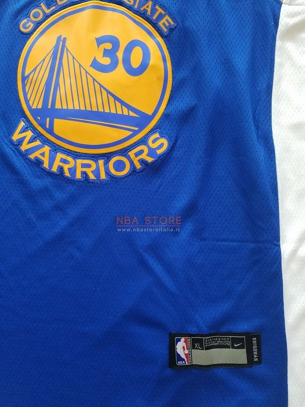 Divise Basket Personalizzate NBA Bambino Golden State Warriors Set Completo  NO.30 Stephen Curry Blu ... 42935d9972be