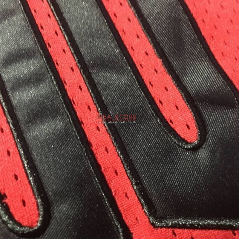 ... Divise Basket Personalizzate NBA Chicago Bulls NO.23 Michael Jordan  Flying Wing Logo Rosso ... 0cf8f0661700