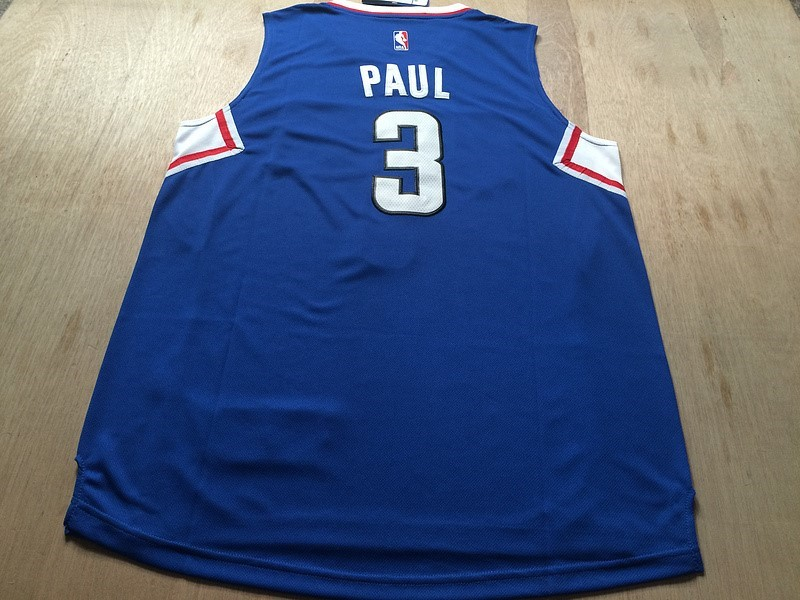 ... Divise Basket Personalizzate NBA L.A.Clippers NO.3 Chris Paul Blu ... 4e53a2c7d690